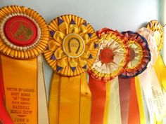 The Polohouse: Vintage Horse Show Ribbons