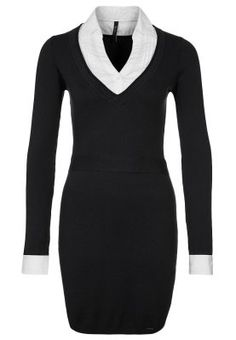 RUTH - Vestido de punto - negro