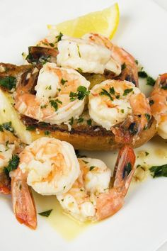 Baked Lemon Garlic Shrimp Recipe - Ready in 20 Minutes!