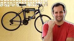 Guardar a bike é um grande problema? Relaxa, o Manual do Mundo vai te ensinar a fazer um pequeno pendurador de bicicletas!