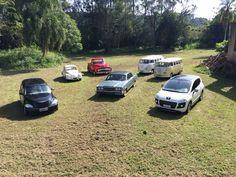 VW Fusca, Ford F100, Ford Galaxie Landau, VW Kombi, Peugeout 3008, Chrysler PT Cruiser, Carros Casamentos