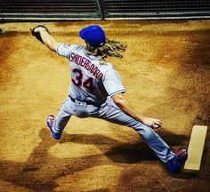 @nsyndergaard takes the hill. #Thor ⚡️ #Mets #lgm
