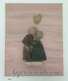 Pebble art. Love never dies. Instgram