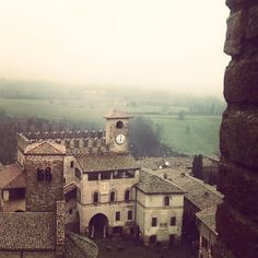 Castell'Arquato, la Trebbia e la pioggia - Instagram by imi_theos