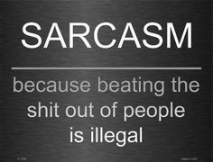 Sarcasm 9 X 12 Metal Funny Parking Sign                                                                                                                                                                                 More  #Etsy #Danahm1975 #Jewelry