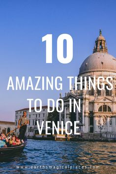 A complete list of the 10 top things to do in Venice Italy! If you only have 1 day in Venice, discover all the places you must visit, and what to add to your bucket lists when you travel to the historic city! It even includes some hidden tips for free things to do in Venice. | what to do in Venice | Venice Italy #travel #Venice #Italy