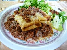 CREPE LASAGNA - Awesomely easy - choose your carb-level for the crepes.