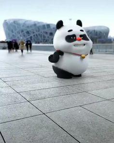 This is Anime Panda Dancing under the rain Video Cute Panda Drawing, Cute Panda Cartoon, Funny Cartoon Gifs, Panda Funny, Cute Cartoon Pictures, Cute Love Cartoons, Cute Bear Drawings, Cartoon Pics, Cute Cartoon Wallpapers