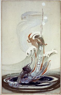 Bertha Lum (American, 1869-1954), Wind and Wave, 1920