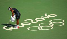 PHOTOS: Rafael Nadal's practice at the Rio Olympics. 5 Aug 2016. Rafa Nadal Vamos Rafa