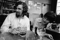 Gerry Rafferty and Billy Connolly 1967, Glasgow.