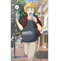 Roxas His Ice Cream by sora-belly.deviantart.com on @DeviantArt