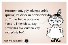 Ten moment... Polish Memes, Funny Quotes, Funny Memes, British Humor, Quotes And Notes, Twisted Humor, Parenting Humor, Work Humor, Laughing So Hard