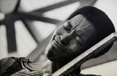 Buddy Guy, Ann Arbor festival, 1969. by Jim Marshall