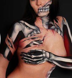 skeleton bodypaint                                                                                                                                                      More