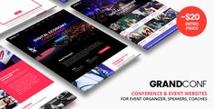 Grand Conference - Event WordPress  -  https://themekeeper.com/item/wordpress/grand-conference-event-wordpress