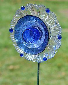 Plate Flower Garden Art