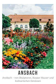 Ansbach – von Skulpturen, Kaspar Hauser und kulinarischen Genüssen