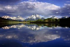 Oxbow  Spring Clouds