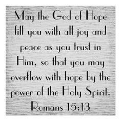 holy bible verses | Bible Verse Romans Posters, Bible Verse Romans Prints - Zazzle UK