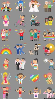 Facebook Pride Stickers Debut In Honor Of LGBT Pride Month The latest in Technology June 2, 2014, 3:34 pm