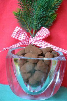 Trufas de chocolate con caramelo