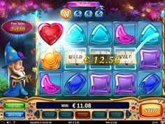 Wizard of Gems slots machine online review
