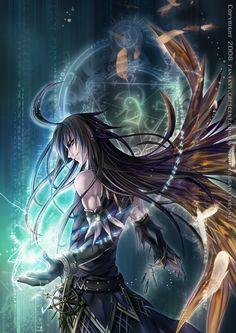 The Black Wizard by hizuki24.deviantart.com on @deviantART