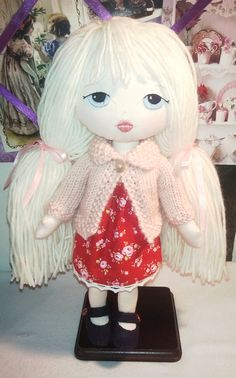 LOTTIE a Gingermelon little lady doll by CRAFTINGANGIE on Etsy, $65.00