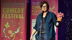 Hannah Gadsby hit back at MICF founding patron Barry Humphries, who called transgender women 'mutilated men'.