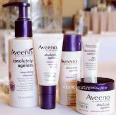 New Aveeno Absolutely Ageless promises to help skin keep its bounce longer