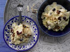 Süße Hirse auf orientalische Art - mit Cranberrys und Mandeln - smarter - Kalorien: 591 Kcal - Zeit: 20 Min. | eatsmarter.de