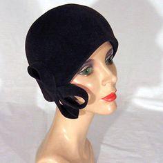 Barbara Feinman: LOUISE BROOKS  Fur felt with self trim $195