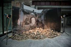 "Saatchi Art Artist Lou Macnamara; Installation, ""#WatchingTheWar"" #art"