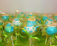 Teapot Cake Pops - OMG these are so cute
