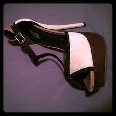 Beige heels Beige stiletto style heels from Charlotte Russe, in size 7 Charlotte Russe Shoes Heels