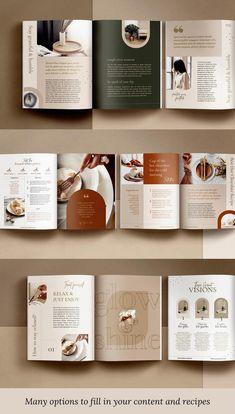 Page Layout Design, Graphisches Design, Magazine Layout Design, Book Layout, Book Design, Print Design, Magazine Layouts, Corporate Design, Branding Design