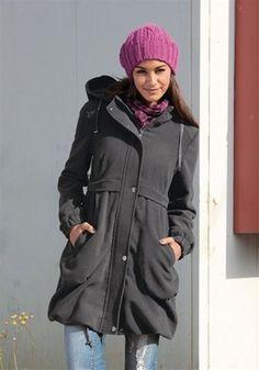 Jacke / Longjacke / Outdoorjacke / Mantel in Grau Größen 32/ 34 / 36 / 38 / 40 | eBay