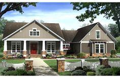 House Plan #21-295 2400 sq ft 4 bedrm, 2.5 bath one story