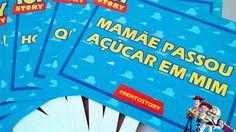 Criação e impressão de placas comemorativas para a festa do Bento por Foco Design & Gráfica.