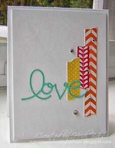 Quickie Birthday Cards by RunningwScissorsStamper using Tape It #TapeIt