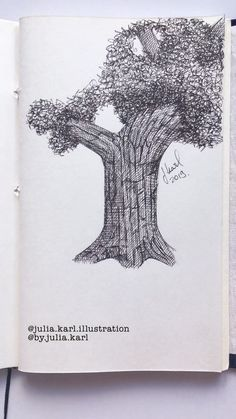 How to draw a tree with ink Well at least one way to do so art drawing ink illustration diy artsandcrafts draw sketch sketchbook drawingtutorial drawyourself # Pencil Art Drawings, Art Drawings Sketches, Black Pen Sketches, Dotted Drawings, Arte Sketchbook, Painting & Drawing, Drawing Tips, Drawing With Pen, Drawing Drawing