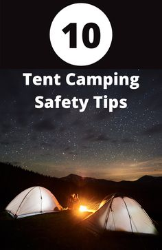 Find out how to have a fun and safe tent camping experience! Backpacking For Beginners, Backpacking Tips, Road Trip Hacks, Camping Hacks, Aggressive Animals, Tent Camping, Glamping, Safety Tips, The Great Outdoors