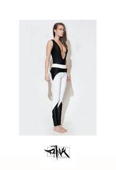 paneled black and white leggings from PankWear on Storenvy Black And White Leggings, White Jeans, Indie Brands, Stuff To Buy, Fashion, Moda, Fashion Styles, Fashion Illustrations, Fashion Models