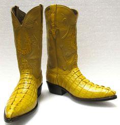 Alligator Crocodile tail cut genuine exotic skin mens cowboy western shoe boots  #BLACKDIAMOND #CowboyWestern