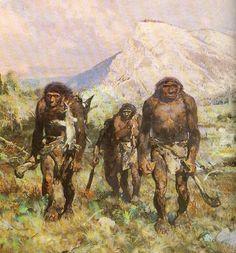 zdenek burian neanderthal - Google Search