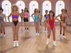 I totally used to do these videos w/ my mom!!! hahahah Fitness & Workout 80's  gotta love the hair..