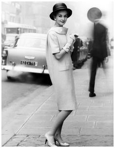 dress by Lanvin-Castillo, Paris 1958