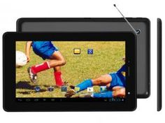 "Tablet Phaser Kinno TV PC203 4GB Tela 7"" Wi-Fi - Android 4.0.4 Proc. A13 Câmera 2MP + 0.3MP Frontal"