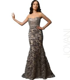 Unique and stylish evening gown with stunning detail! | Nikki's Dresses - Melville, NY